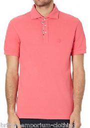BALLANTYNE 100% Cotton Pink Short Sleeved Piquet Polo T-Shirt LARGE BNWT